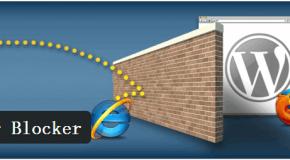 WordPress低版本瀏覽器檢測和升級提醒